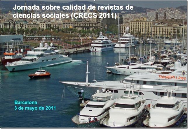 Presentación de la Jornada CRECS 2011