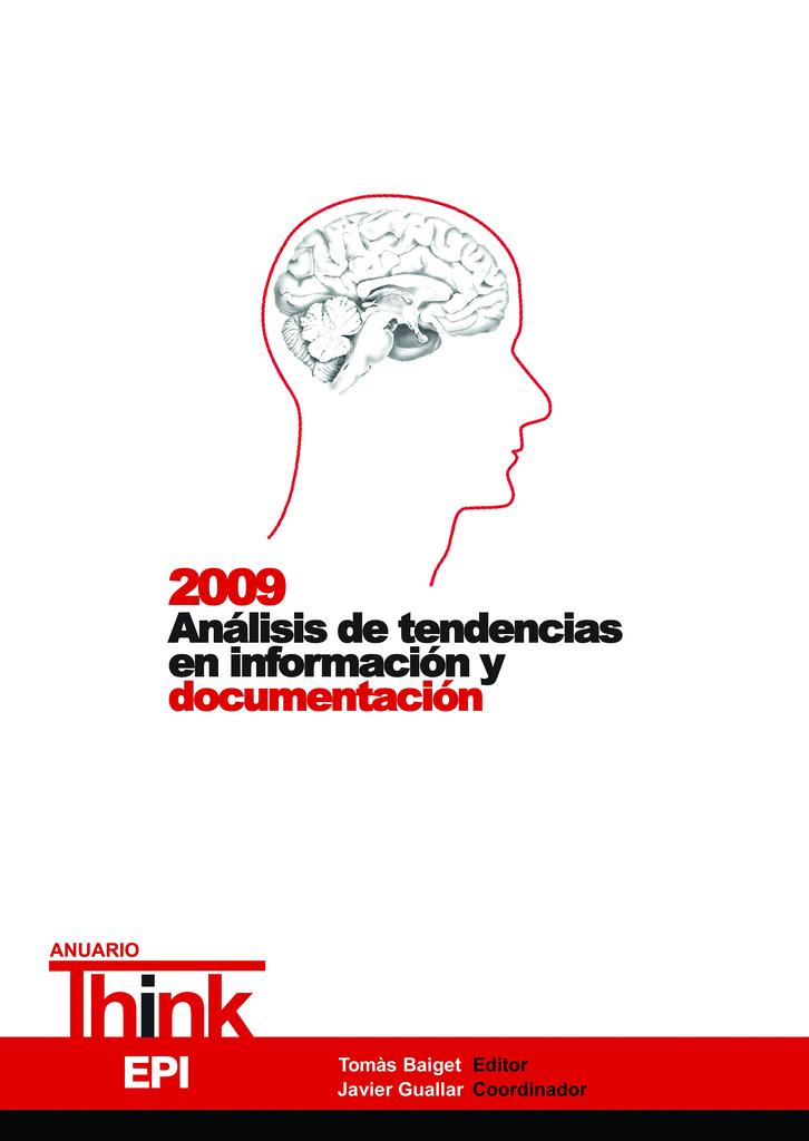 Anuario ThinkEPI 2009 - Portada