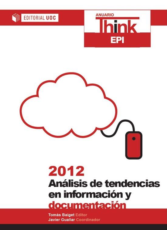 Anuario ThinkEPI 2012 - Portada