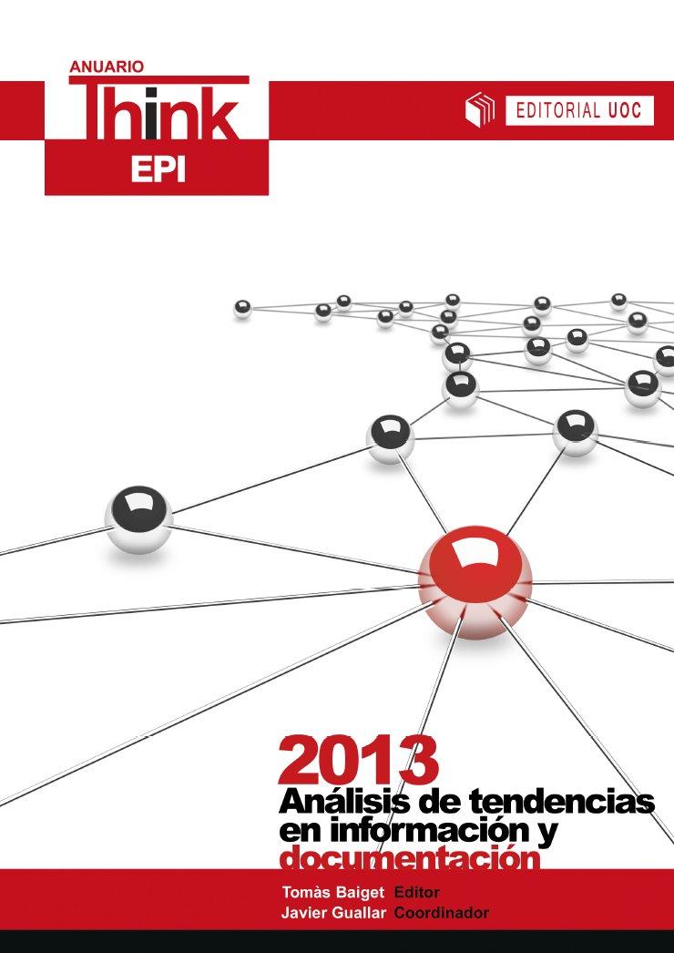 Anuario ThinkEPI 2013 - Portada