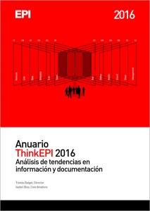 Anuario ThinkEPI 2016 - Portada